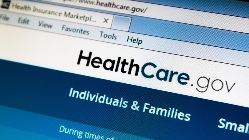 Healthcare.gov Website Medical Insurance Health