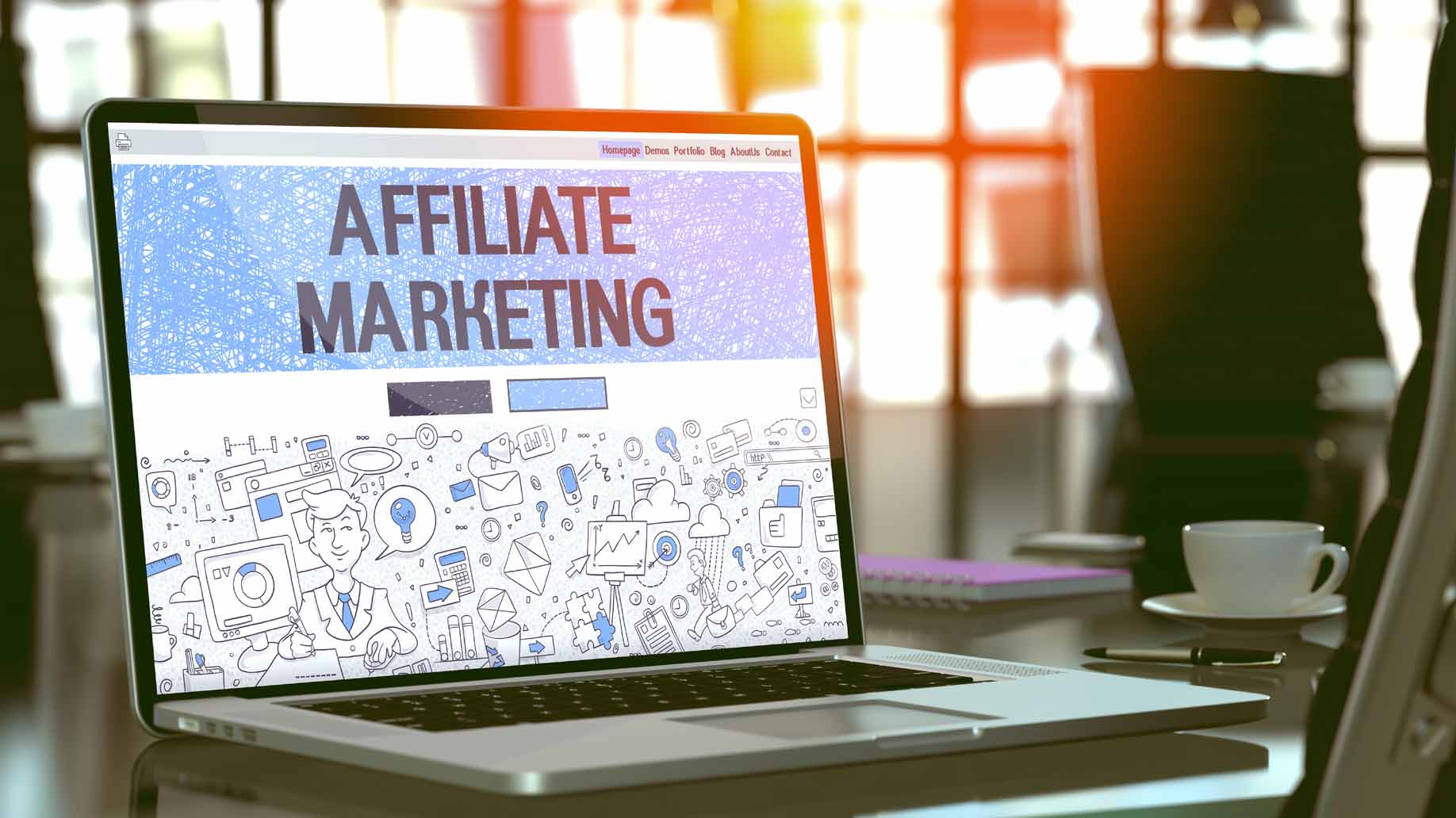 affiliate marketing computer