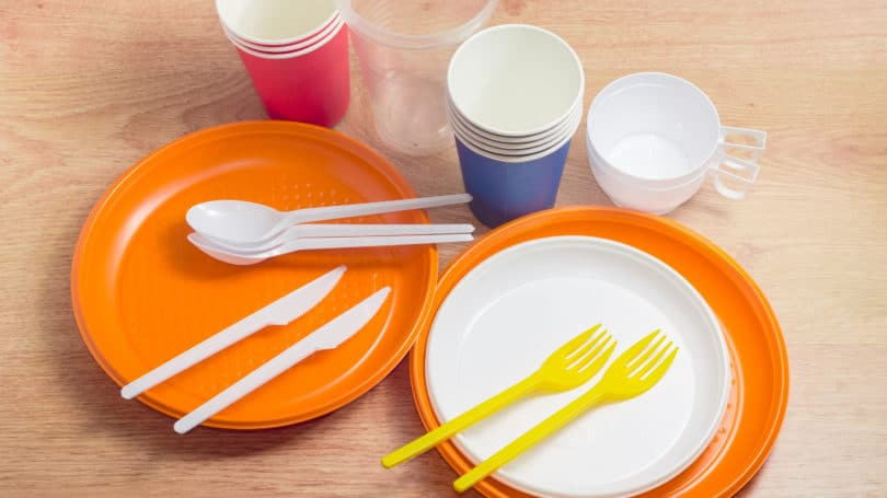 Paperplates Utensils Cups