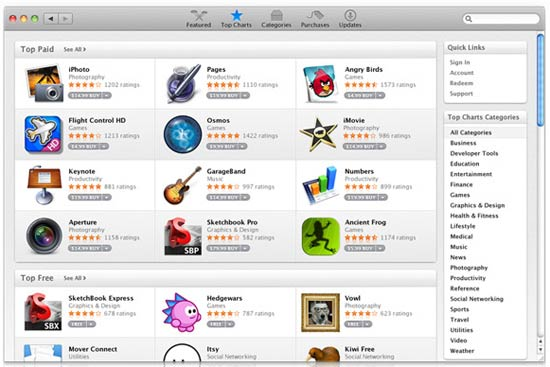 mac app store apps example