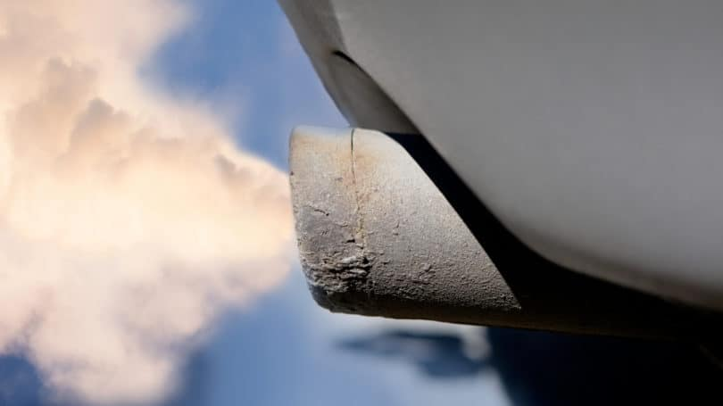 Bad Condition Tailpipe