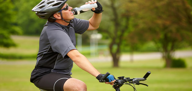biking water bottle