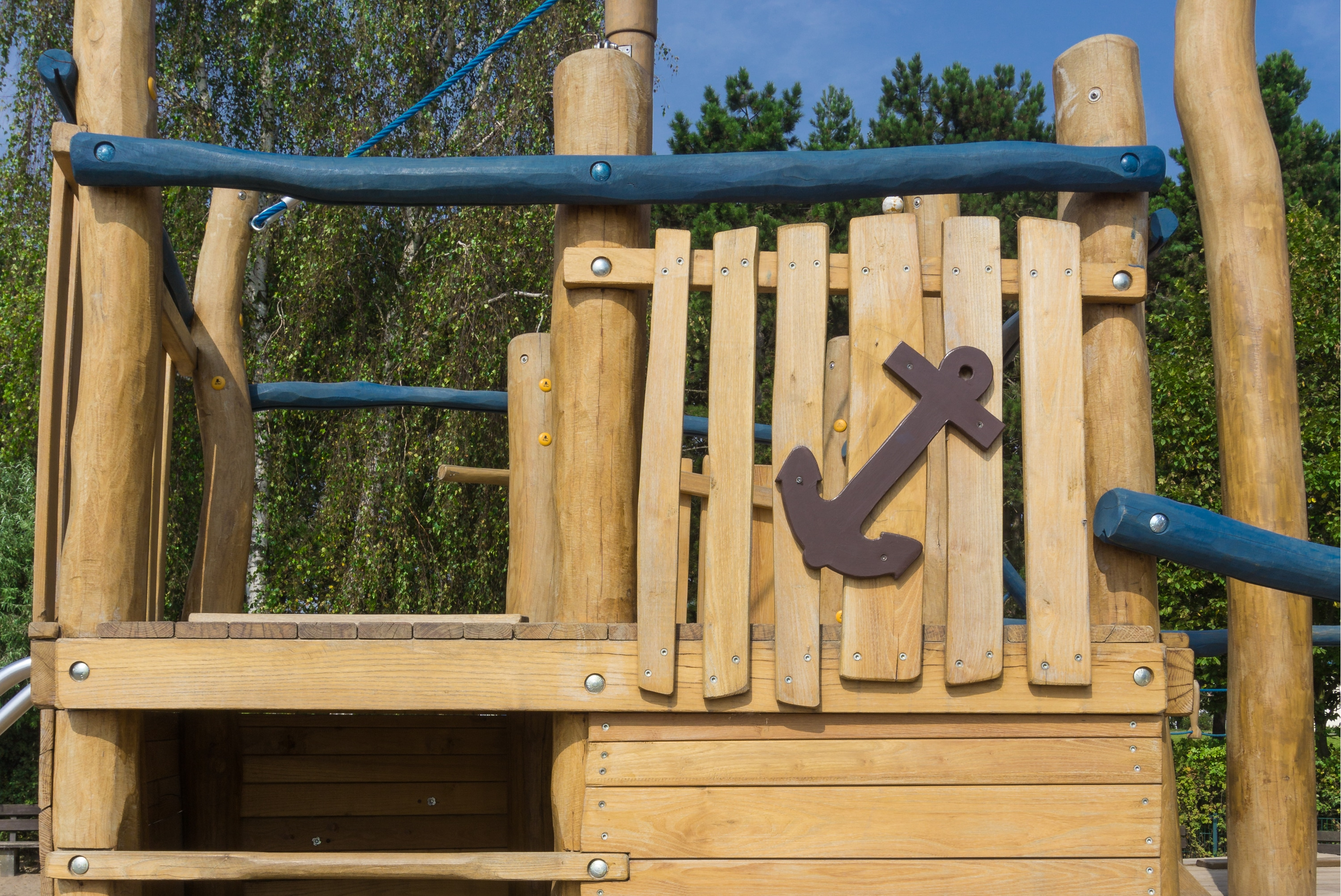 Making a playground with your own hands is easy