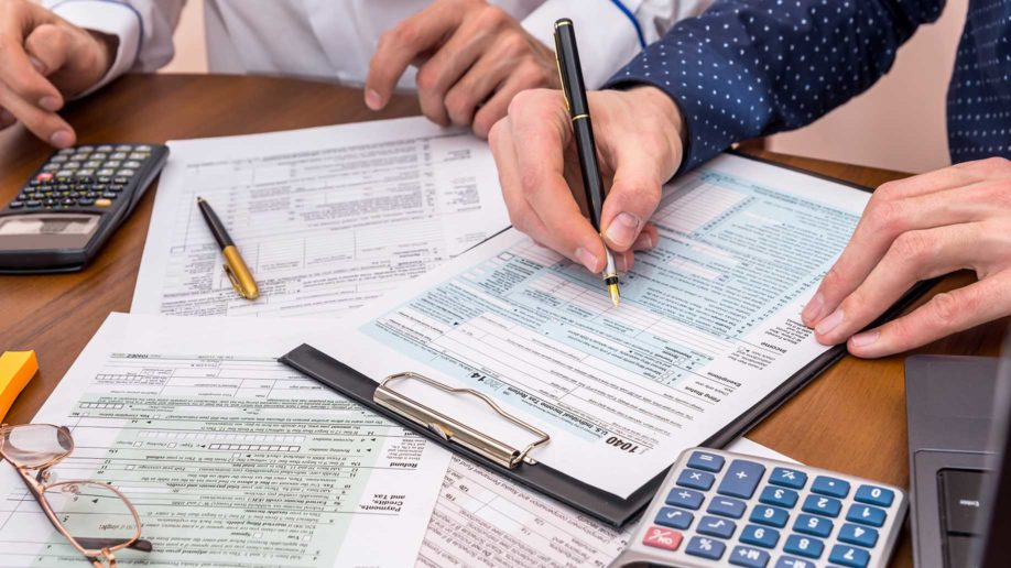 calculate income tax form