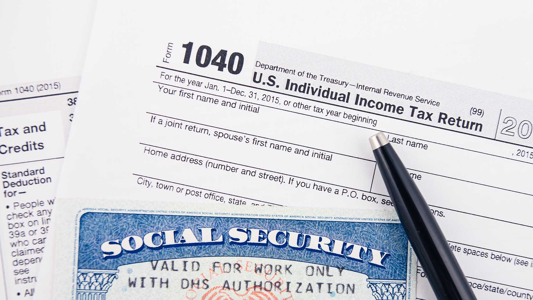 filing tax return social security
