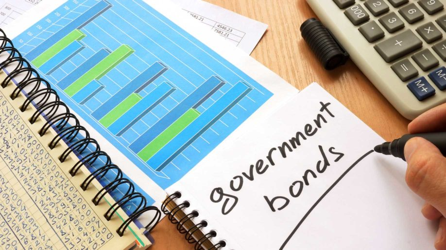 government bonds written in a notebook?