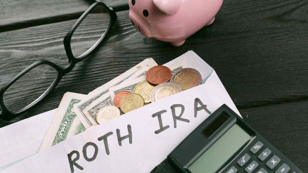 roth ira in a paper for pension plans