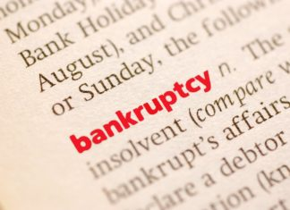 Dictionary Definition Of Bankruptcy