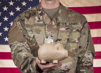 american soldier saving for the future