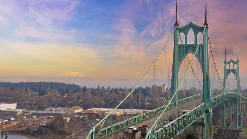 St Johns Bridge Portland