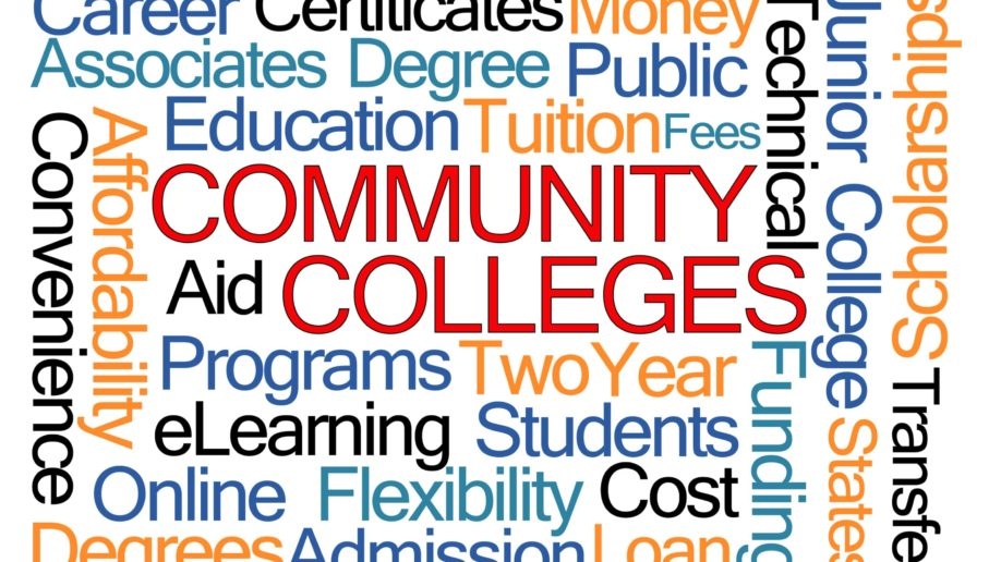 Community Colleges Words Degrees Cost Education