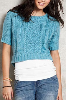 delias erykah cable knit sweater