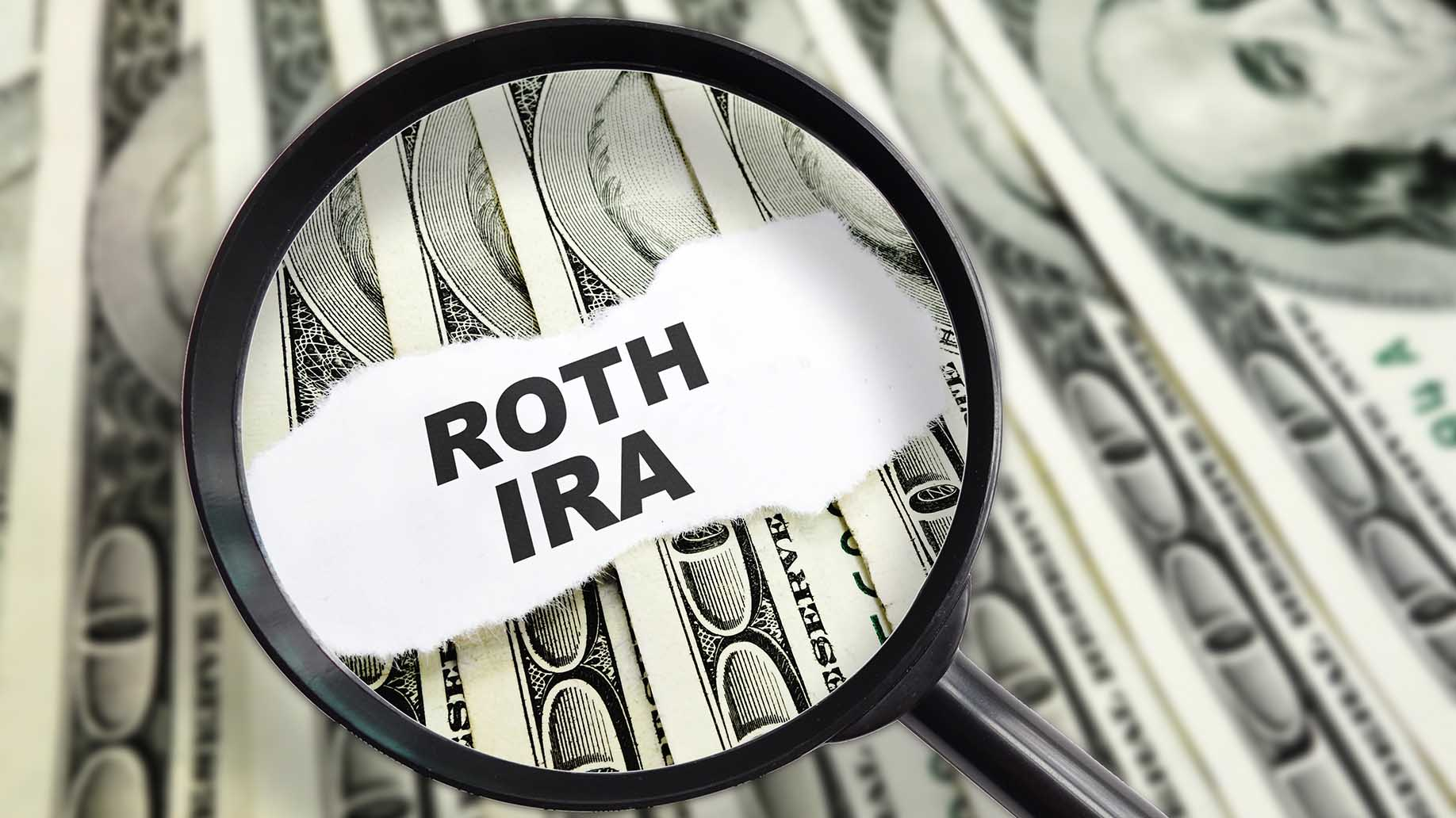 magnified roth ira message on hundred