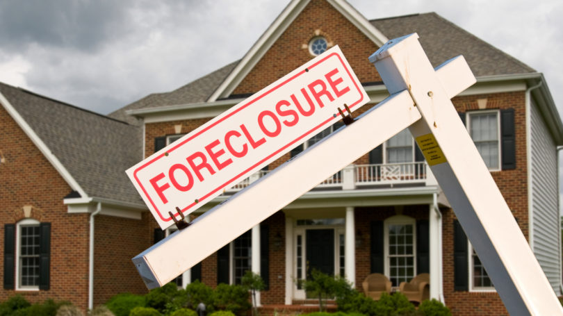 Bank Mortgage Payment Foreclosure