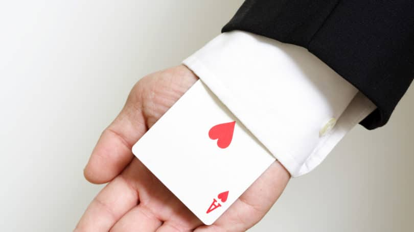 Personalized Hearts Playing Cards