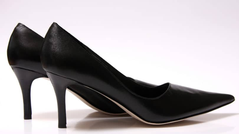 Womans Black Pumps