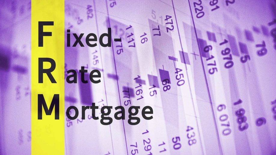 acronym frm fixedrate mortgage?