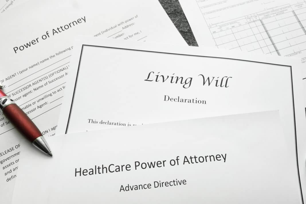 Living Will Advance Health Care Directive