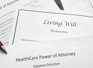 power attorney living will healthcare documents?
