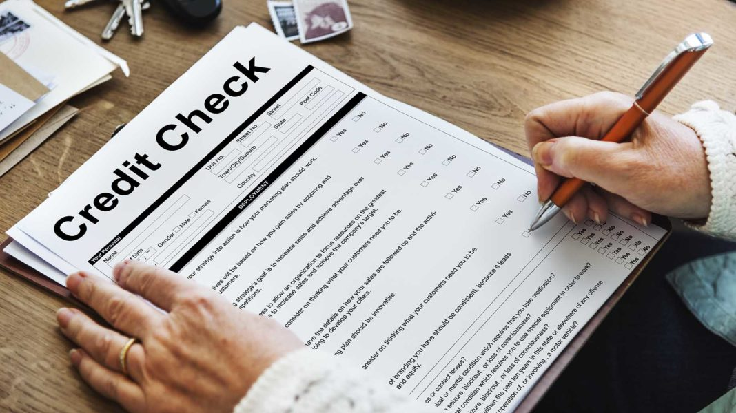 credit check financial accounting request form?