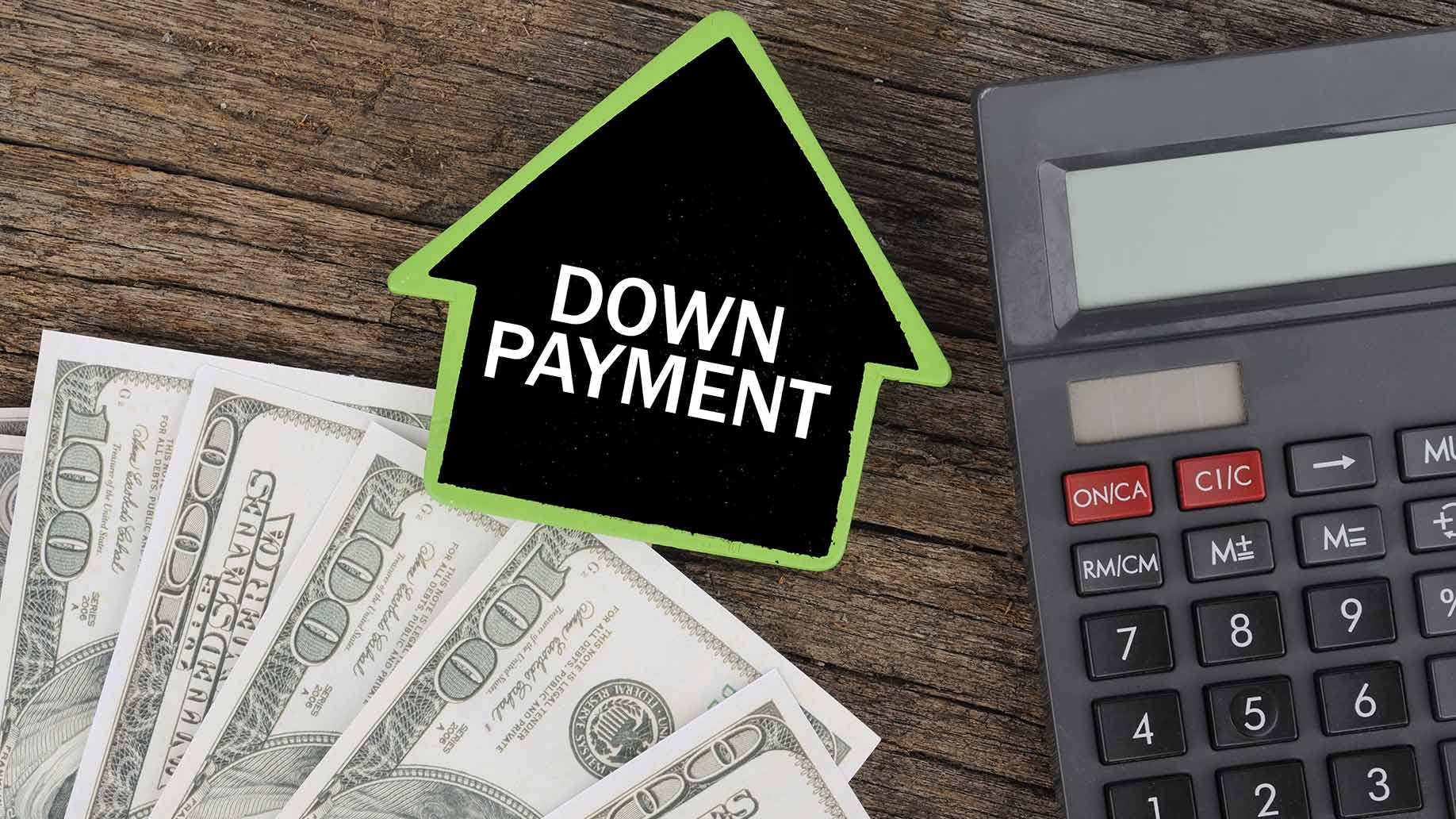 money down payment calculator