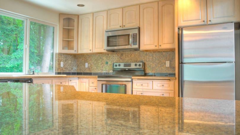 Refinish Kitchen Cabinet