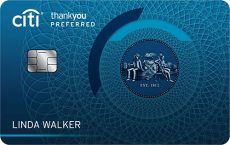 citi thankyou preferred credit card