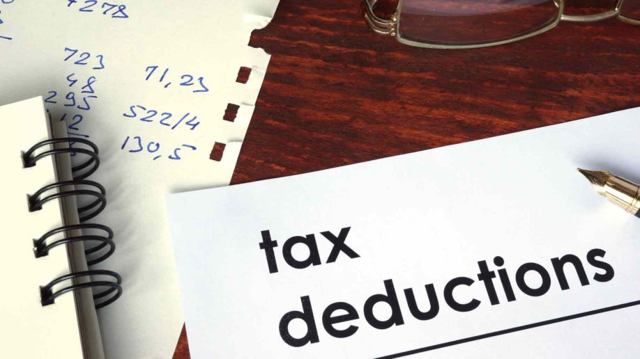 tax deductions paper