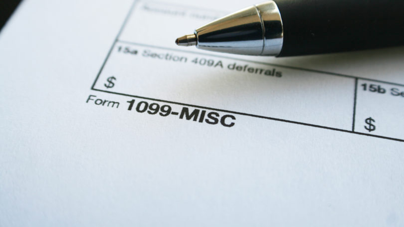 Irs Tax Form 1099 Misc Instructions For Small Businesses Contractors