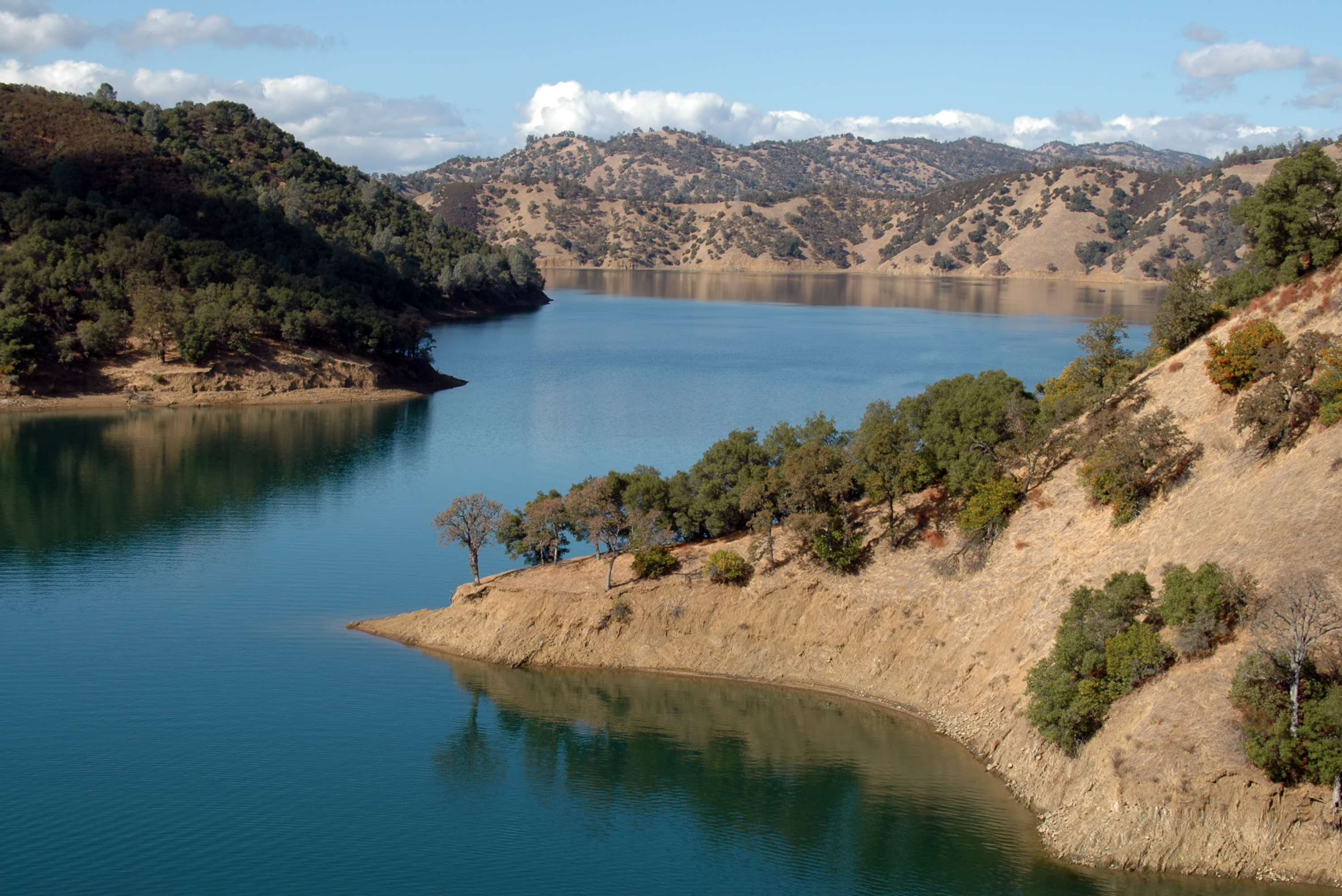 lake berryessa near napa