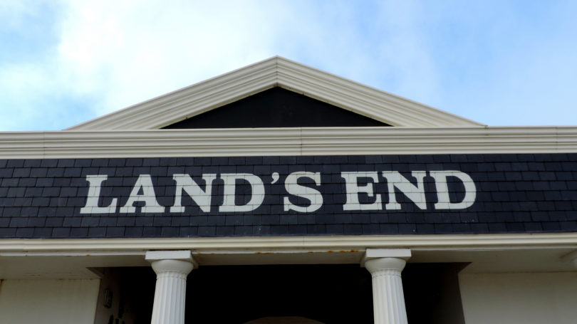 Land's End Clothing Retailer