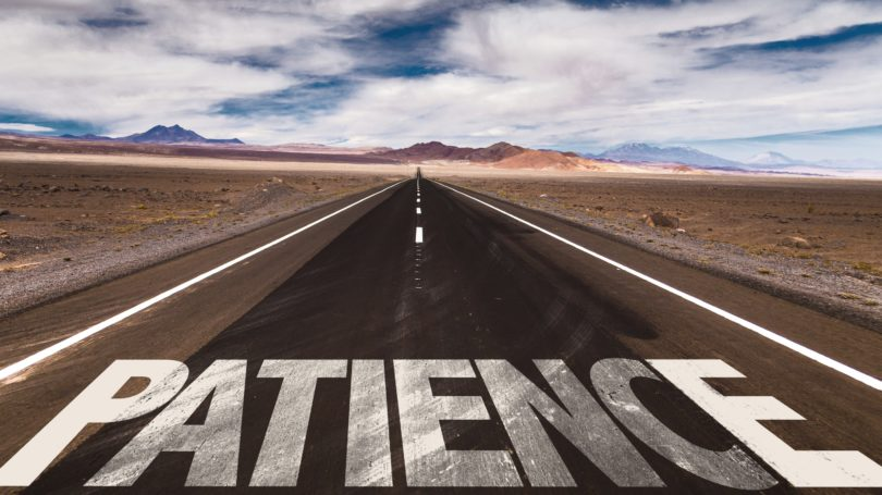 Patience Long Road Ahead Horizon