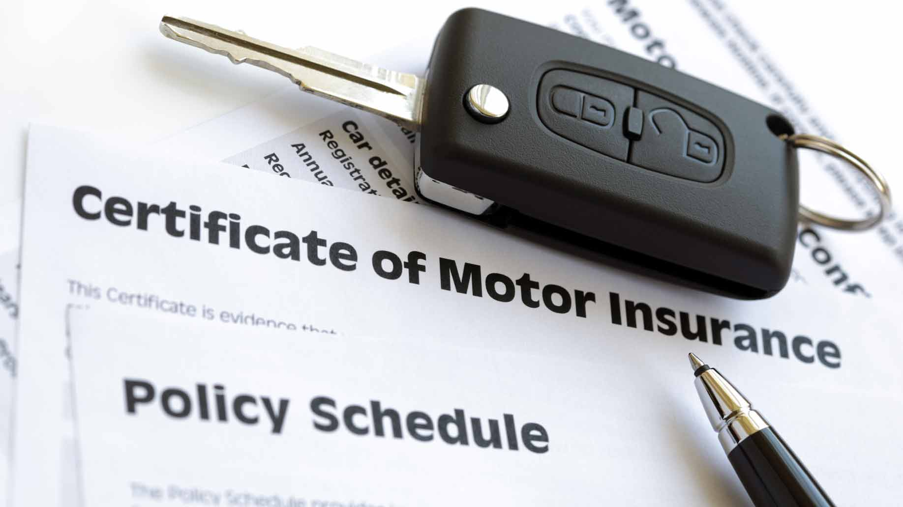 certificate of motor insurance policy