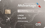 citibusiness aadvantage platinum select mastercard