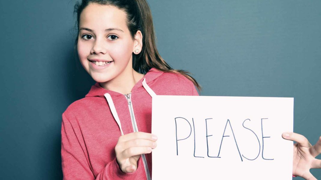 girl please sign