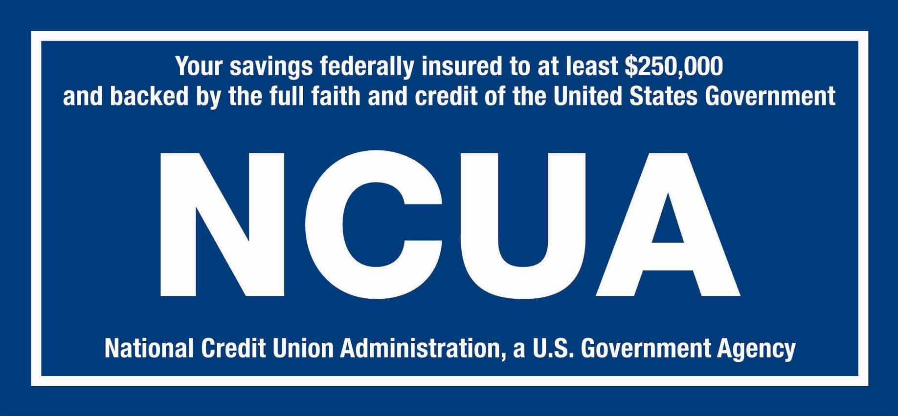 ncua logo sign