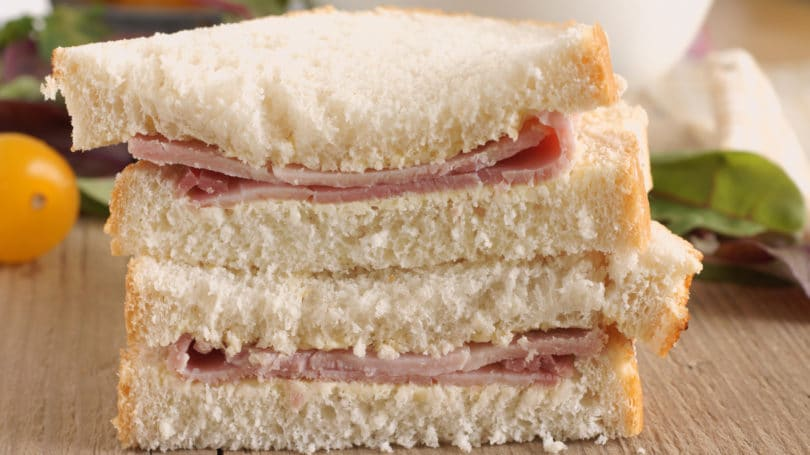 Salami Sandwich Lunch