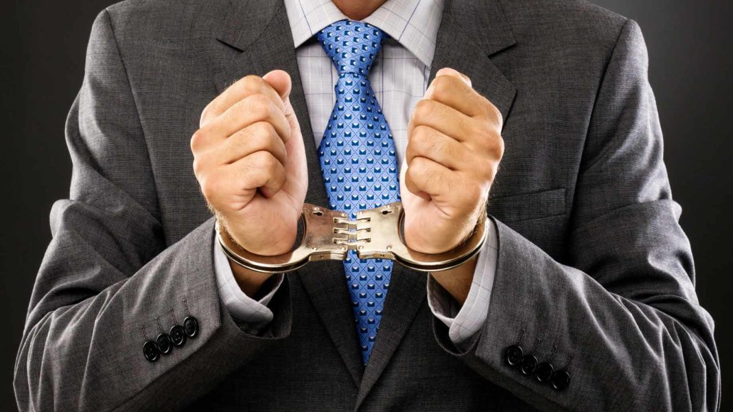 businessman convicted of crime