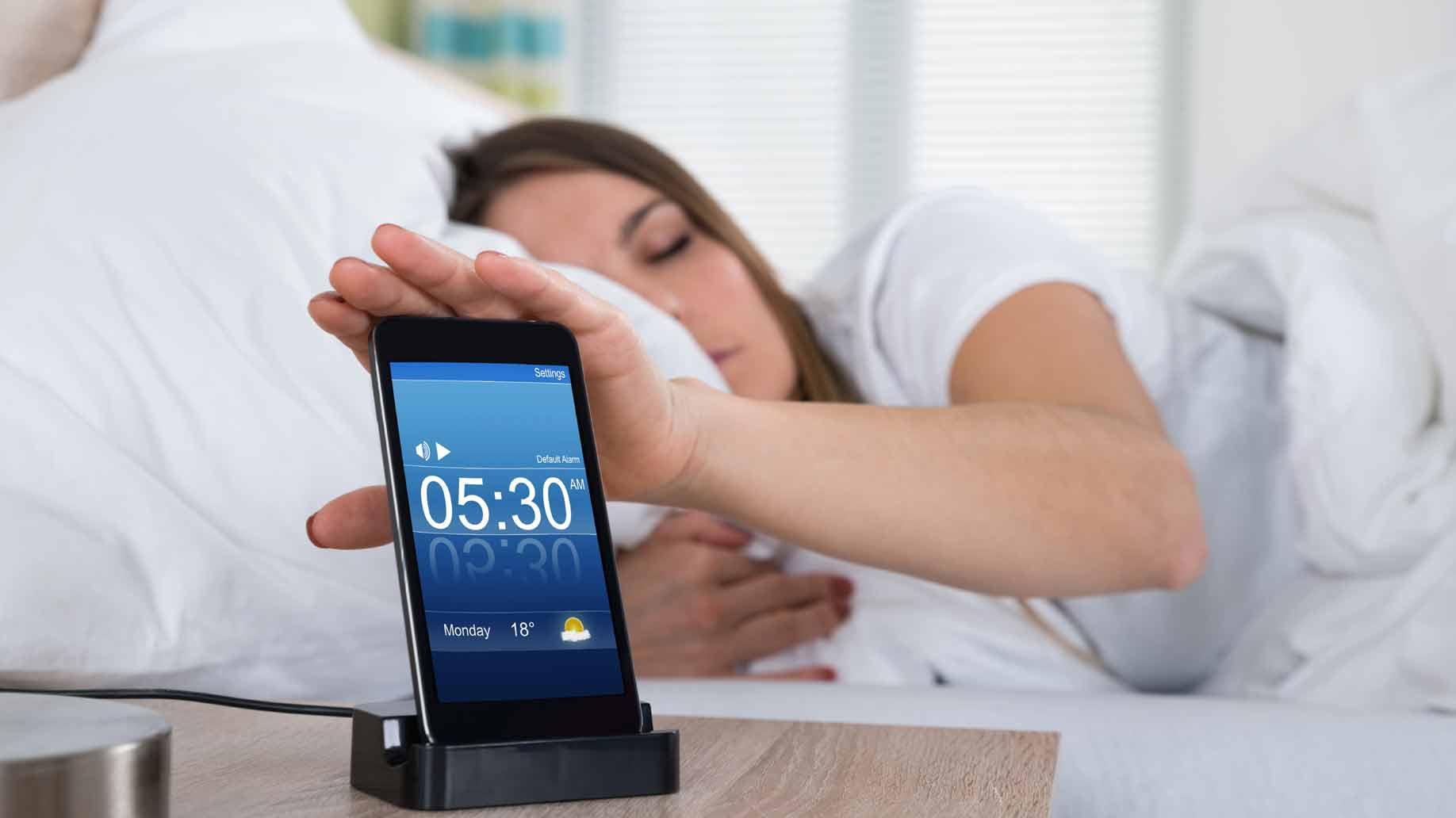 smart phone alarm clock app