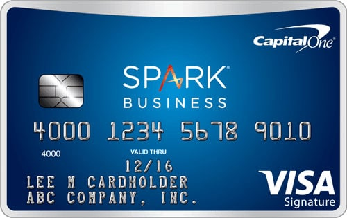 capital one spark miles business credit card