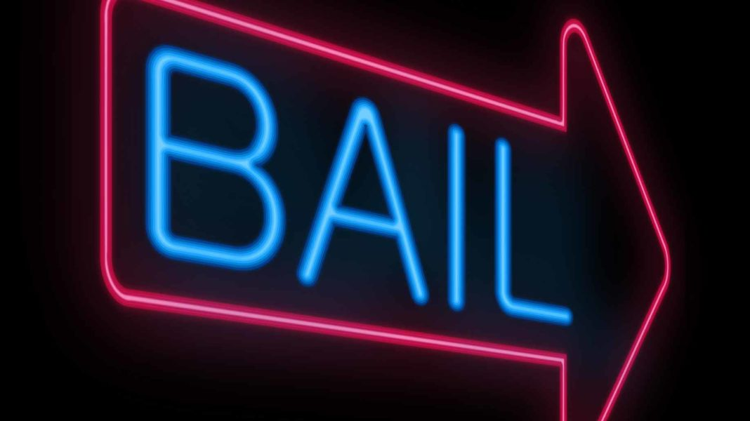 neon bail sign