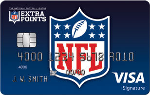 nfl extra points credit card