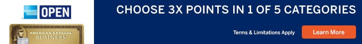 american express business gold rewards 3x points categories