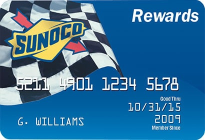 sunoco gas rewards card