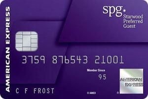 american express starwood preferred guest credit card