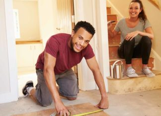 homeowners making home improvements