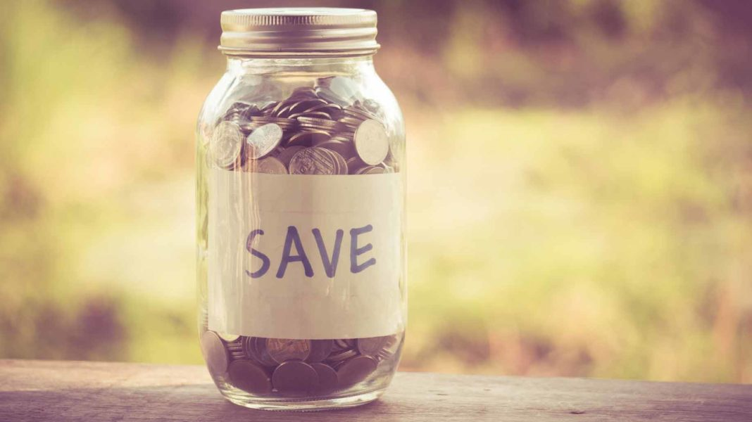 save money jar savings