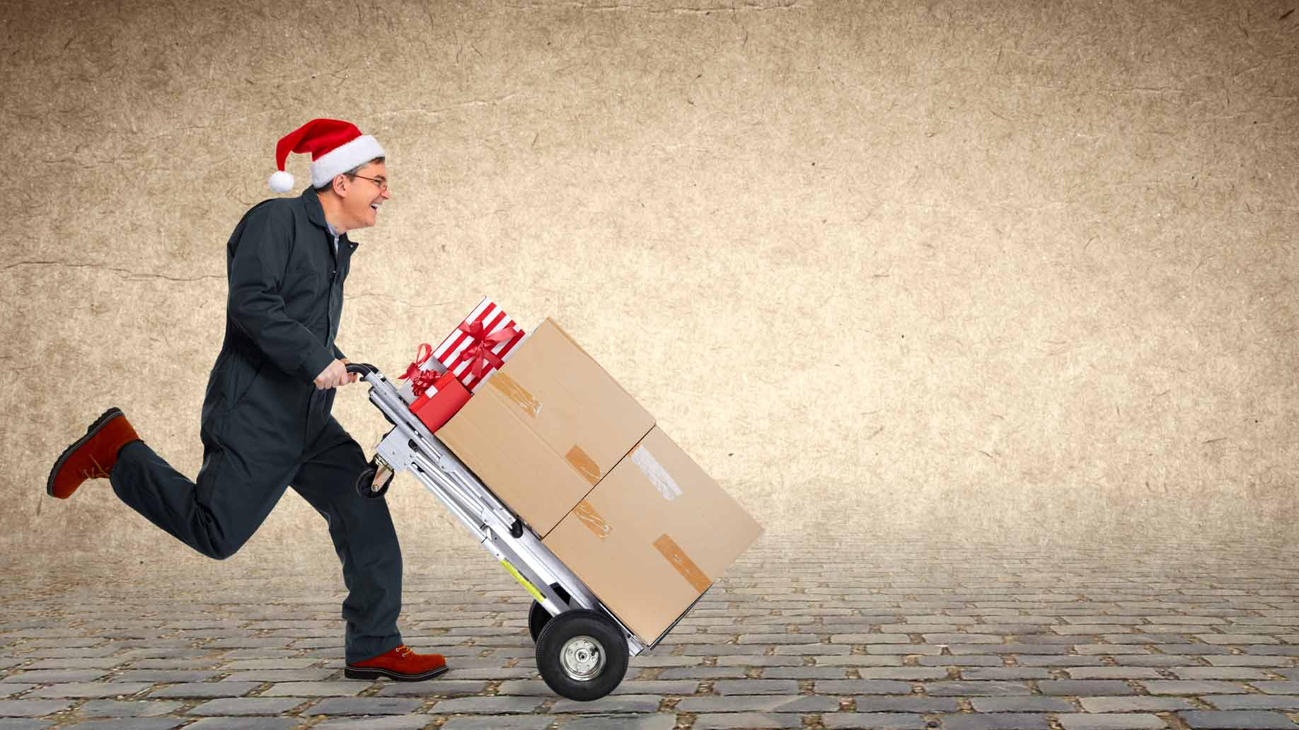 shipping holiday christmas packages boxes gifts express rush