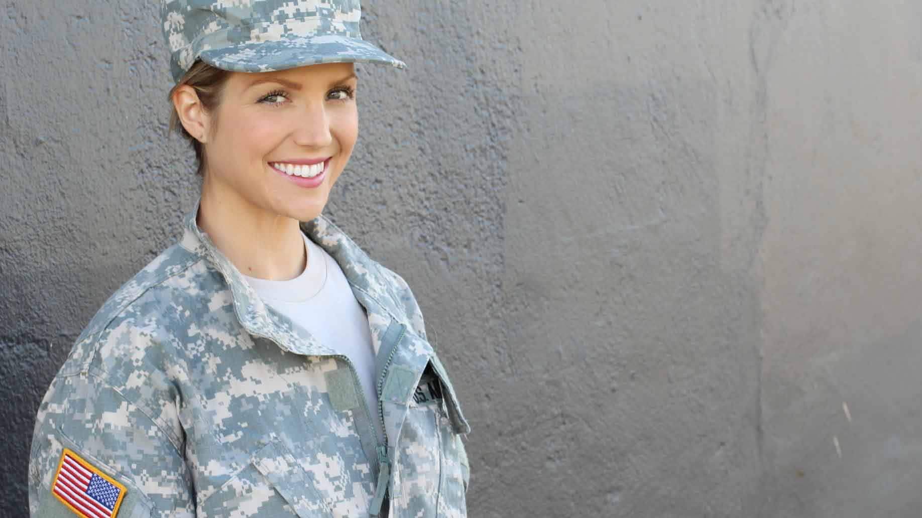 woman in usa armed forces