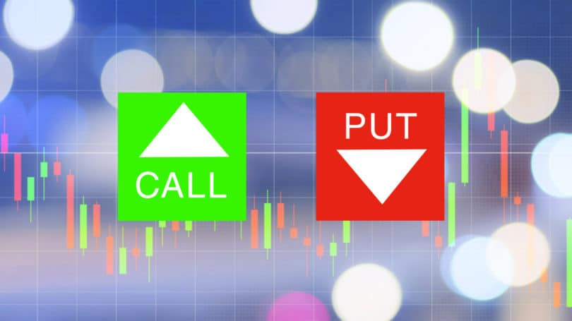 Binary options call put